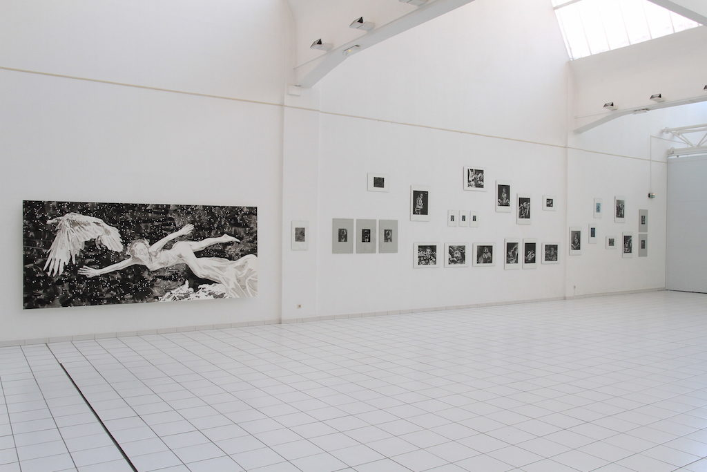 Paolo Boosten exhibition view, Fonds d'Art Moderne et Contemporain, Montluçon, 2016.