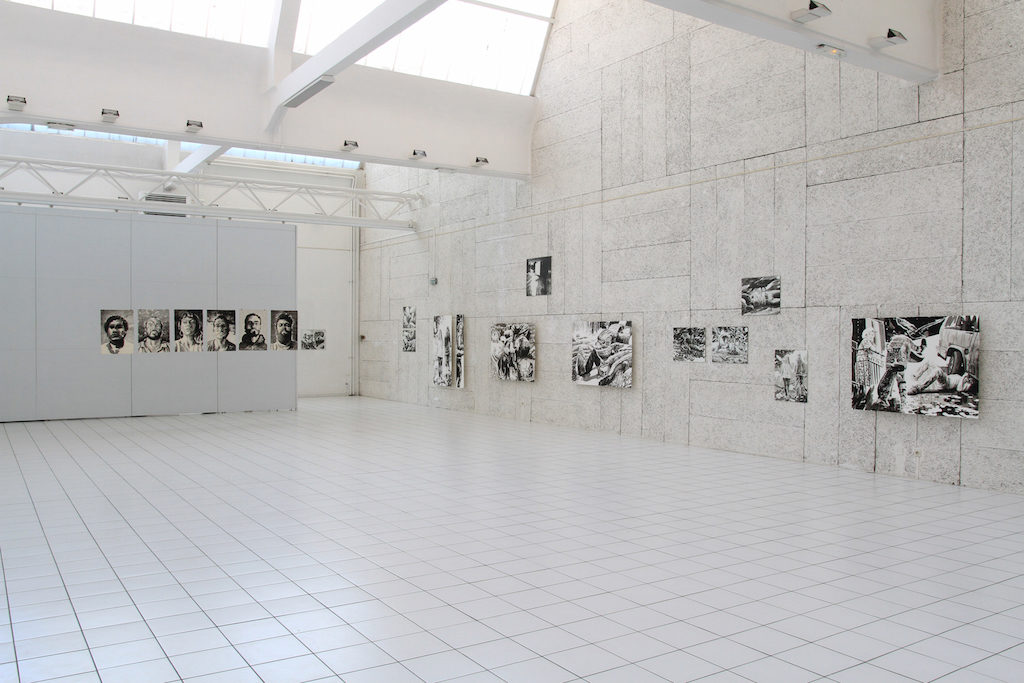 Paolo Boosten exhibition view, Fonds d'Art Moderne et Contemporain, Montluçon, 2016..